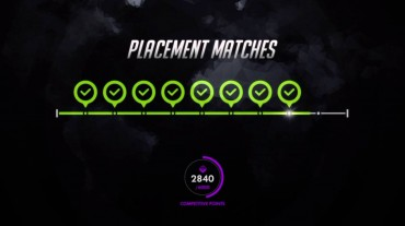 Overwatch placement matches